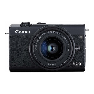 Link to Canon EOS M200 EF-M 15-45mm IS STM Kit (Black) Similar Items in Digital Cameras