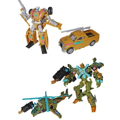 Transformers BotCon 2013 Exclusive Figure 2-Pack Electrons & Sandstorm - multi