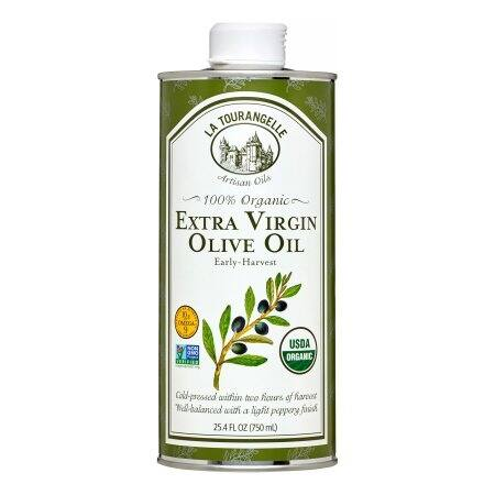 La Tourangelle Organic Extra Virgin Olive Oil - Case of 6 - 25.4 Fl oz.