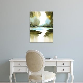 Easy Art Prints Nancy Knight's 'A Summer's Walk' Premium Canvas Art