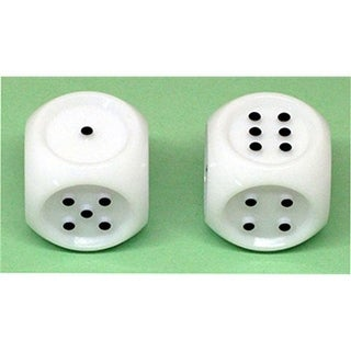 Koplow Games Inc. KOP17339 Jumbo Tactile Dice Set Of 2