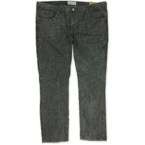 Ecko Unltd. Mens Velocity Wash C Plus Slim Fit Jeans, Black, 28W x 32L - 28W x 32L
