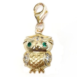 Julieta Jewelry Owl Clip-On Charm
