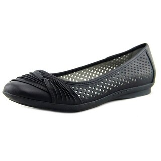 White Mountain Harlyn Black/Burn/Smooth Flats