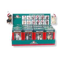 Club Pack of 35 Cat & Dog Santa Claus Hat Christmas Ornaments - multi