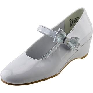 Rachel Shoes Cynthia Youth Open Toe Synthetic Wedge Sandal