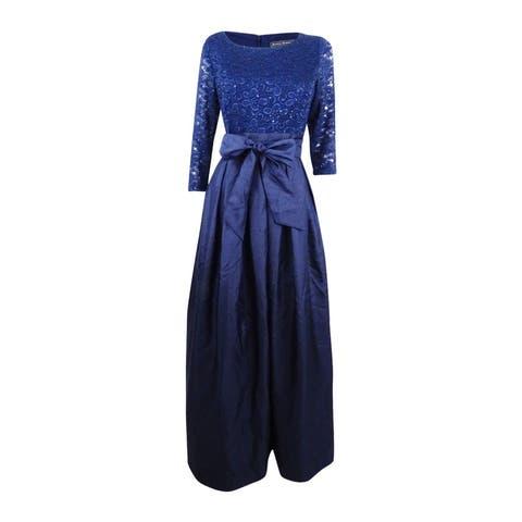 898ba232d87 Jessica Howard Women s Lace A-Line Gown