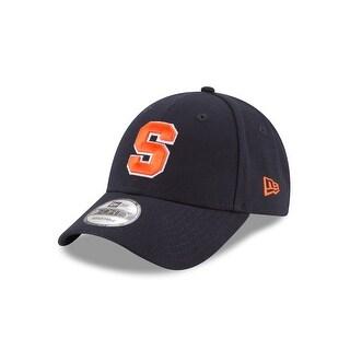 New Era Unisex The League Syracuse Orangemen 9Forty Adjustable Hat, Navy, Os
