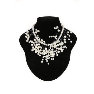 Cinderella Couture Elegant Multi Pearl Necklace