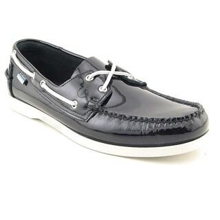 Sebago Docksides Men Moc Toe Leather Boat Shoe