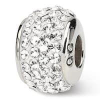 Sterling Silver Reflections April Full Swarovski Elements Bead (4mm Diameter Hole)