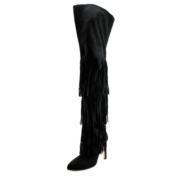 Chelsea & Zoe Kadence Women Black Boots