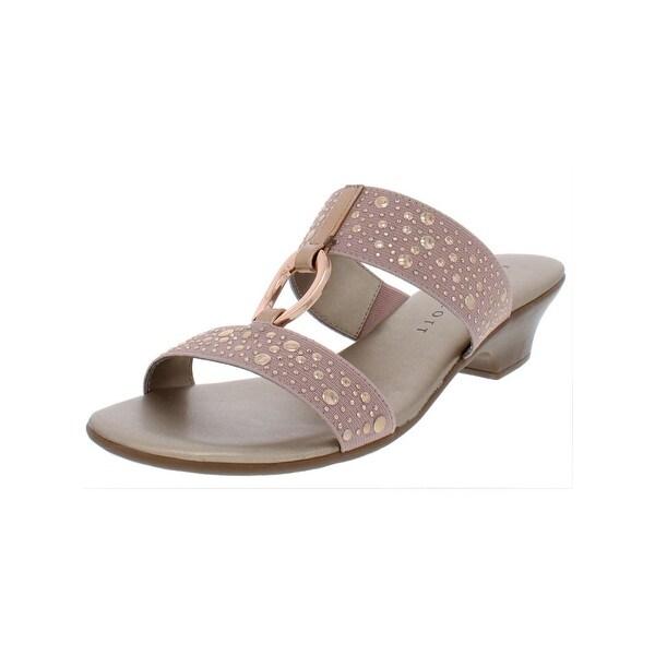 a8c7c802aea41 Shop Karen Scott Womens Eanna Kitten Heels Textured Man Made - Free ...