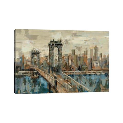 "iCanvas ""New York View"" by Silvia Vassileva Canvas Print"