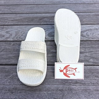 Pali Hawaii Jandals WHITE with Certificate of Authenticity (Option: 13)