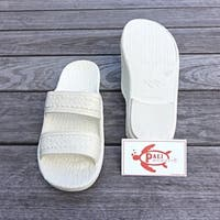 Pali Hawaii Jandals WHITE with Certificate of Authenticity