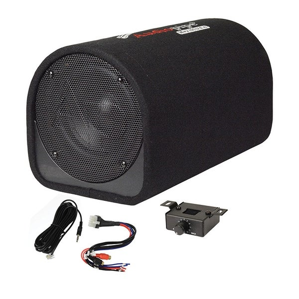 "Audiopipe 8"" Single ported bass tube enclosure 400W"