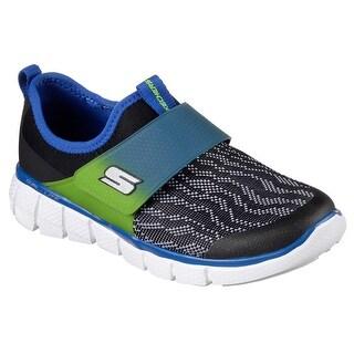 Skechers 97378L BKBL Boy's EQUALIZER 2.0 - POWER MOVE Sneaker