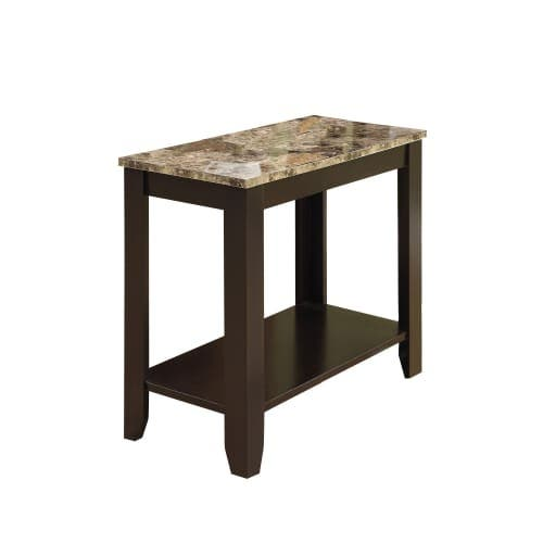 Monarch Specialties Side Table Xi 22 Inch Tall Rectangular