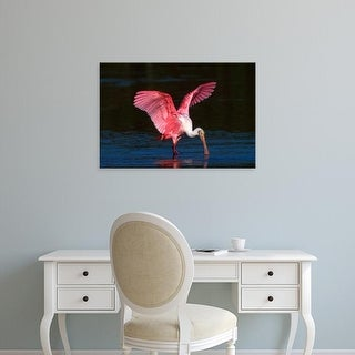 Easy Art Prints Charles Sleicher's 'This Roseate Spoonbill' Premium Canvas Art