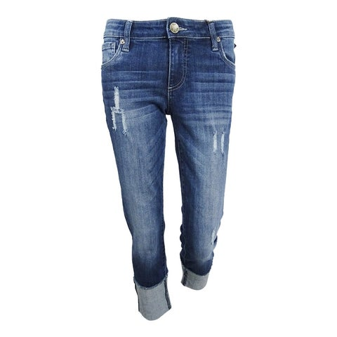 Kut From The Kloth Women's Embroidered Boyfriend Jeans (0, Honorable) - Honorable - 0