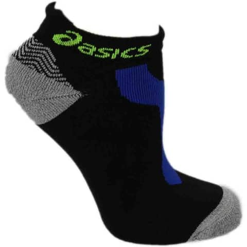 Asics Womens Resolution Low Cut Tennis Athletic Socks Ankle
