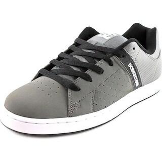 DC Shoes Wage SE Men Round Toe Leather Skate Shoe