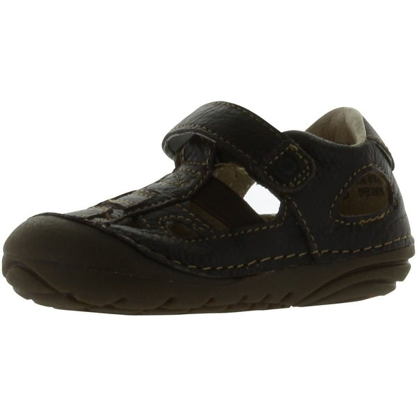Stride Rite Srt Sm Tony Sandal - Dark brown - 4 m us toddler