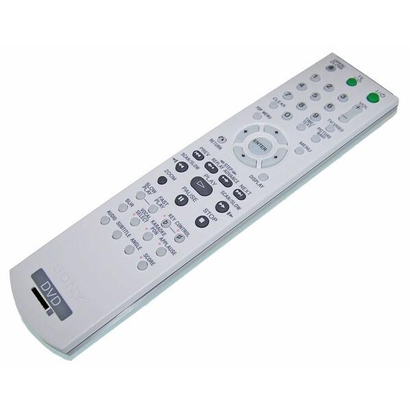 OEM Sony Remote Control Originally Shipped With: DVPK85, DVP-K85, DVPK85P, DVP-K85P, DVPK85P/R, DVP-K85P/R