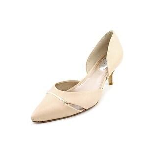 Alfani Corrin Pointed Toe Leather Heels
