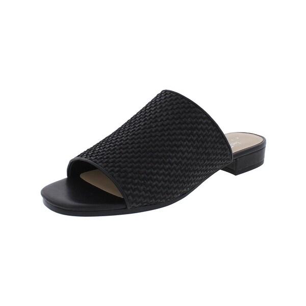 424 Fifth Womens Yeva3 Slide Sandals Open Toe Heels
