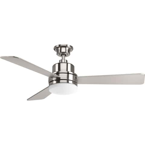 """Trevina Collection LED 52"""" 3-Blade Fan - 10.500"""" x 25.250"""" x 11.370"""""""
