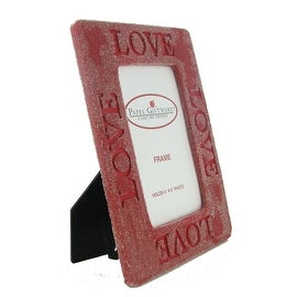 'Love' Red 4x6 Picture Frame