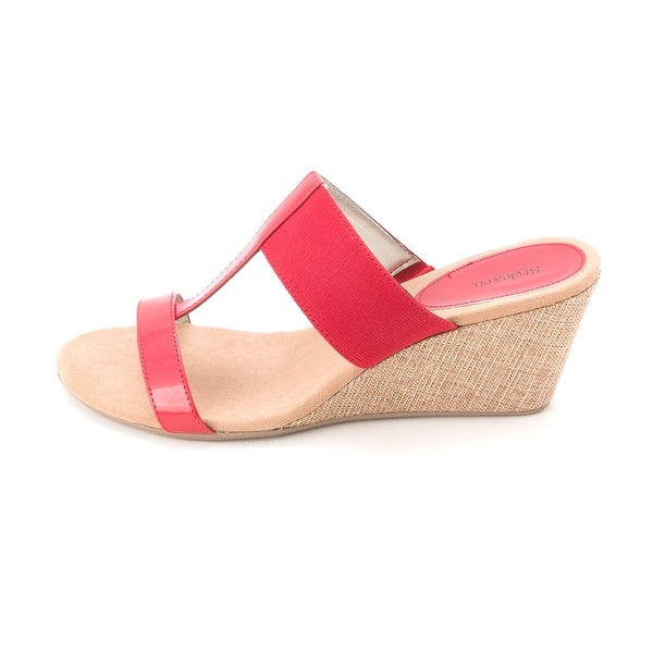 Style & Co. Women's Vern T-Strap Wedge Slides