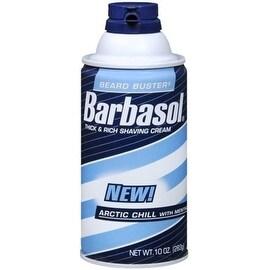 Barbasol Shaving Cream Arctic Chill 10 oz