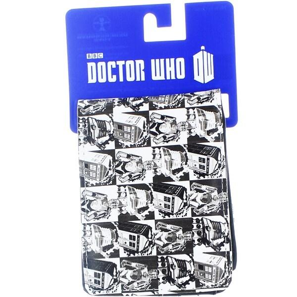 Doctor Who Men's Bi-Fold Wallet: Comic Strip - Multi
