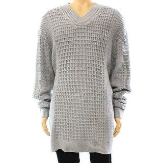Alfani NEW Gray Cloud Heather Mens Size XL Shawl Collar Knit Sweater