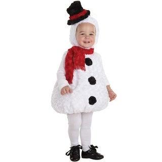 Underwraps Snowman Toddler Costume - Solid