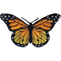 Monarch Butterfly - Wrights Iron-On Applique
