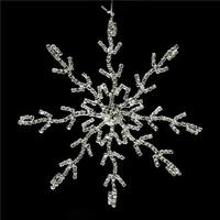5.5 in. Glamour Time Silver Rhinestone Embellished Decorative