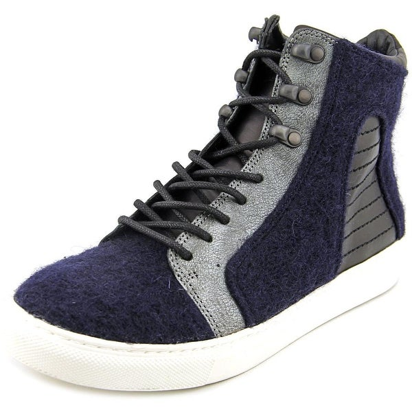 Elie Tahari Vortex Women Canvas Blue Fashion Sneakers