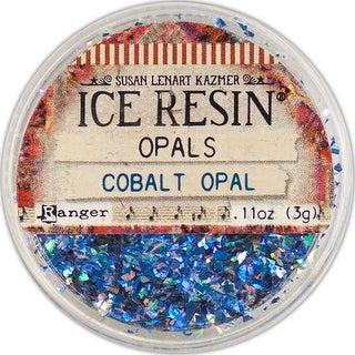 Cobalt - Ice Resin Opals