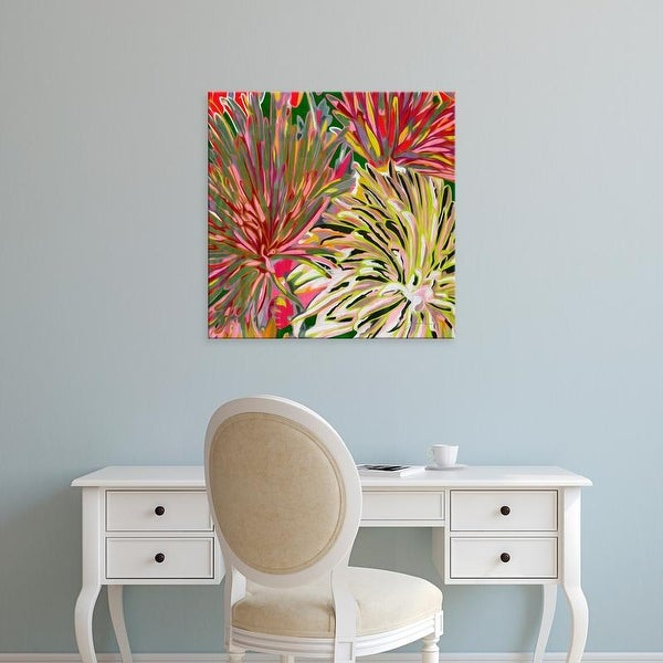 Easy Art Prints James Burghardt's 'Spring Mix I' Premium Canvas Art