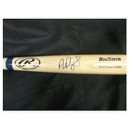 Signed Pujols Albert Rawlings Big Stick Bat autographed