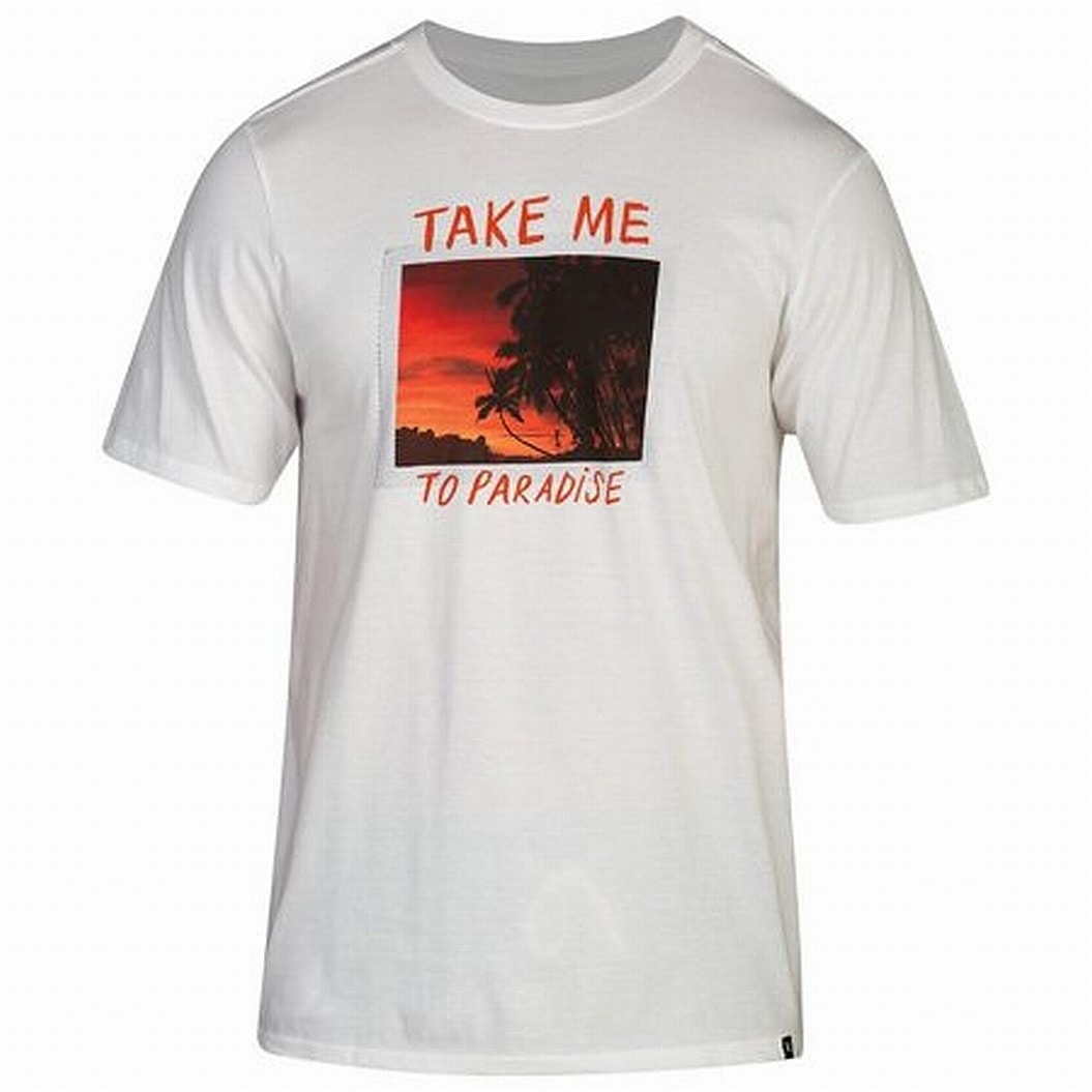 Hurley Mens Paradise Graphic T-Shirt