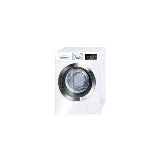 """Bosch WAT28402U 24"""" Wide 2.2 Cu. Ft. Energy Star Rated Front Loading Washer with SpeedPerfect - White - n/a"""
