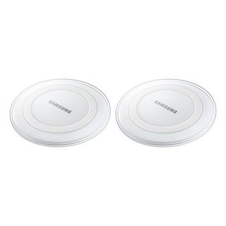 Samsung Wireless Charging Pad - White (2-Pack) Wireless Charging Pad