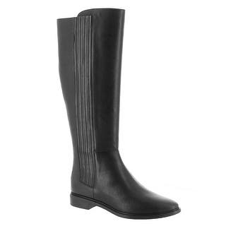 7753775d8d3 Calvin Klein Womens Finley Closed Toe Knee High Fashion Boots · Quick View