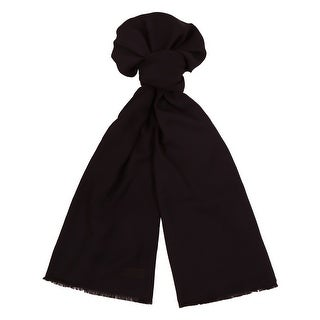 Moschino MOPSM0001/33 Navy Blue Solid Scarf
