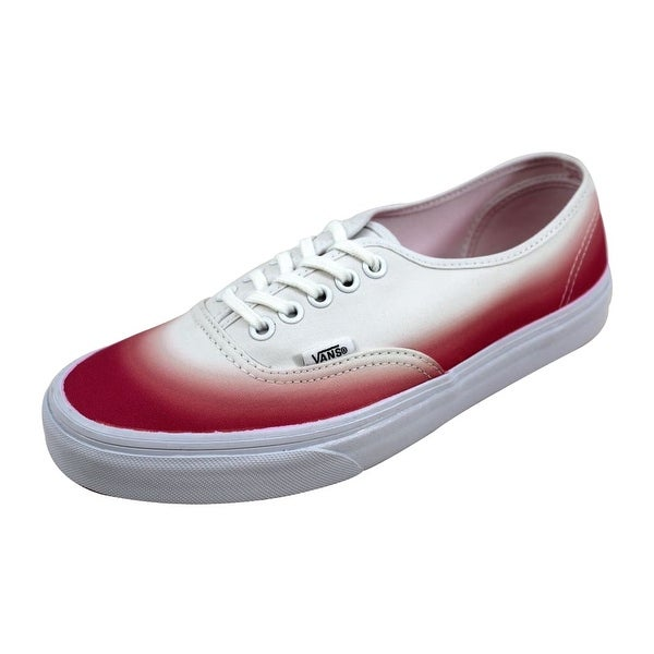 1824f54957f07f Shop Vans Men s Authentic Pink True White Ombre VN-0 ZUKFIT Size 7 ...